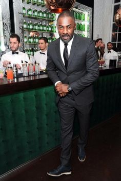 He's a GOD. Love me some Idris.
