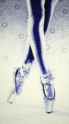 Stippling with sharpie- wow