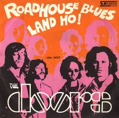 Cover art for the single release of Roadhouse Blues