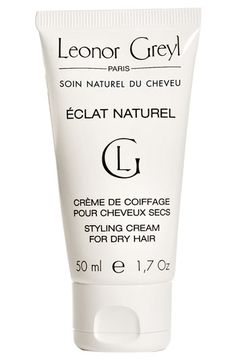 Free shipping and returns on Leonor Greyl PARIS 'Éclat Naturel' Styling Cream at Nordstrom.com. Éclat Naturel Styling Cream is a daytime nourishing and styling cream for dry hair that reconditions, detangles and works as a real hair styling tool.<br><br>How to use: Start with a pea-sized amount and use more if needed. Apply to damp or dry hair to help detangle and sculpt hair. Hair can be shaped with fingertips; scrunch for curly styles or smooth down with a brush for a straight look.