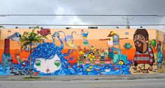 OSGEMEOS - WynwoodWalls, Miami