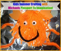 Michaels stores are making it so easy for parents and kids to get crafting this summer with their Passport to Imagination classes.  Kids will have a chance to take a road this summer at classes being held on Mondays, Wednesdays, and Fridays from June 15 – July 31.  Classes are only $5 per session or $12 for 3 sessions, including supplies. #kidcraft #michaels