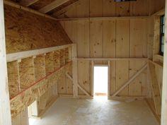 Chicken Coop Ideas Design coopsiclejpg Interior View With Nesting Boxes Httpwwwwoodtexcomchicken