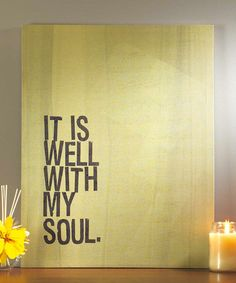 Beautiful mantra to say to yourself every day. :: Wall Art by Jozie B