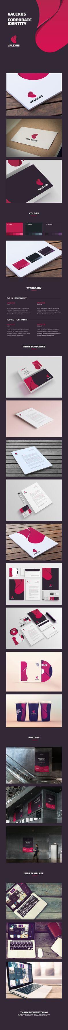 Valexus - Corporate Identity and Branding on Behance