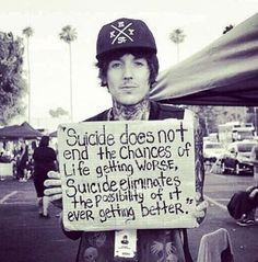 Suicide doesn't solve the problem, but it does prevent the chance of it ever being solved.   www.soberisexy.com