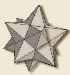 Significato dei Solidi Platonici - Piccolo Dodecaedro Stellato