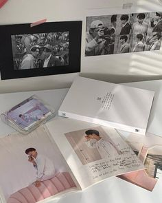Kpop Diy, Soft Wallpaper, Kpop Merch, How To Get Warm, Aesthetic Themes, Spotify Playlist, Foto Bts, Photo Book, Cute Pictures