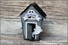 Home sweet home, Halloween, Ein Haus für alle Fälle, Stampin' Up!, Kidesos Stempelwelt, Big Shot, Thinlits, Framelits