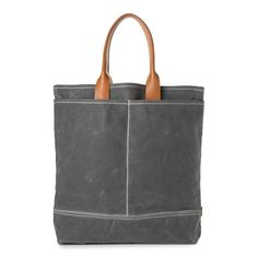 grey canvas tokyo bag    perfect commuting size