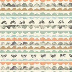 Lined style of pattern by Becky Hodgson via Print + Pattern blog