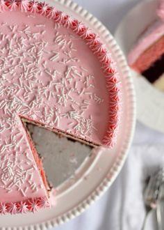 5-layer Neapolitan cake.