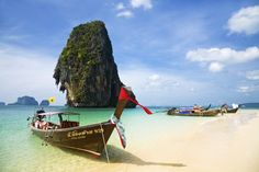 Krabi's fairytale limestone crags come to a dramatic climax at Railay (also spelled Rai Leh), the ultimate jungle gym for rock-climbing fanatics....