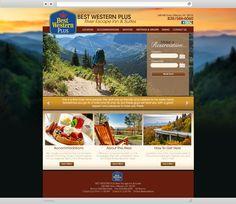 Best Western Plus River Escape Website Design