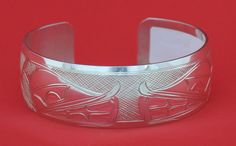 Silver Wolves Bracelet - First Nation Jewellery