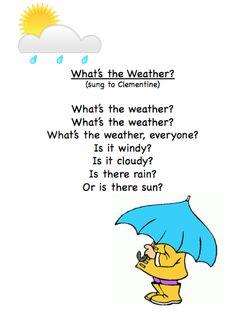 Grade ONEderful: School Weather Poem