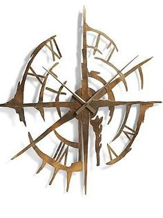 As stunning as it is functional. the Gallatin Wall Clock graces your wall with an impressive hand-forged metal design that's sure to mesmerize your guests.