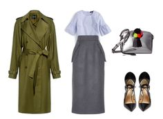 Happy Wear to Work Wednesday! Yeah, it's still winter but this week's Fashion at Work inspo has touches of spring you can get into now. If it's not quite warm enough where you live to indulge in the f