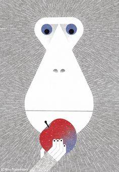 Monkey Art Print by Ryo Takemasa - X-Small Art And Illustration, Illustrations And Posters, Graphic Design Illustration, Graphic Art, Monkey Art, Monkey Drawing, Animal Posters, Poster S, Mundo Animal