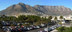 A panoramic view of Table Mountain, Cape Town, South Africa Cape Town Tourism, Table Mountain Cape Town, South Africa, Dolores Park, City, Travel, Viajes, Destinations, Traveling
