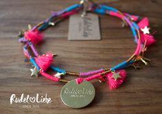 Hippie Halskette FREE für Hunde - Das perfekte Accessoire für den Sommer  Shop now: www.rudelliebe.de