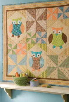Debbie Mumm: Flight of Fancy quilt from my Fresh Cuts book
