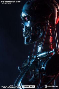 SIDESHOW : The Terminator - Endoskeleton Life-Size Bust