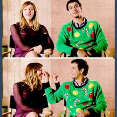 I LOVE HIM IN THIS SWEATER SO MUCH RIGHT NOW!!!!!!!!!!!!!!!!!!!!!!!!!!!!!!!!!!!! #teamscorpion