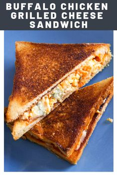 Grill Cheese Sandwich Recipes, Grilled Sandwich, Steak Sandwiches, Burger Recipes, Buffalo Chicken Grilled Cheese, Grilled Chicken, Quick Snacks, Quick Easy Meals, My Favorite Food
