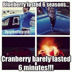 <3 The Cranberry!! #Psych