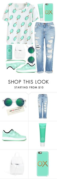"""Isabella"" by unknownreasons ❤ liked on Polyvore featuring H&M, Genetic Denim, NIKE, Natura Bissé, Mansur Gavriel and Casetify"