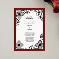 Islamic Wedding Invitation Cards – The Best Ideas Pakistani Wedding Cards, Muslim Wedding Cards, Muslim Wedding Invitations, Wedding Card Wordings, Arab Wedding, Wedding Invitation Card Design, Wedding Invitation Samples, Classic Wedding Invitations, Wedding Card Design