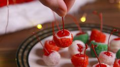These Holiday Cheery Bombs Will Get You Blitzen'd Real Fast Holiday Drinks, Holiday Treats, Christmas Treats, Holiday Recipes, Christmas Recipes, Holiday Foods, Christmas Party Food, Christmas Goodies, Christmas Baking