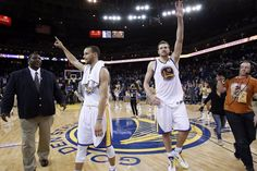 Warriors clinch playoffs! I was there!!!!