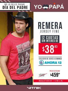 #ParaPapaElMejorRegalo ⬇ #VitnikEntreRios  #PediElCatalogo ✔ Hay Más Prendas para Él