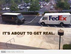 FedEx vs UPS | FEDEX | Pinterest