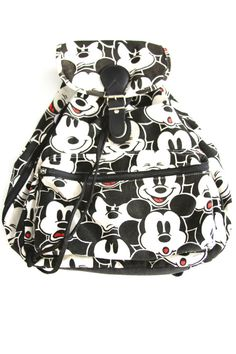 Mickey Mouse Club Backpack by WILDCHILDSCA on Etsy