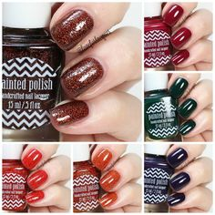 Painted Polish The Cozy Collection | Swatches & Review