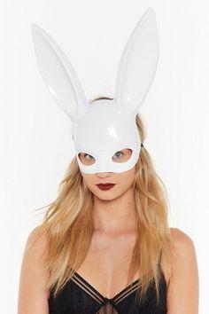 You Ok Bun Bunny Mask. Features a oversized bunny ear design, high-shine finish, and elasticized band at back. Halloween Headband, Halloween Dress, Halloween 2020, Halloween Outfits, Halloween Costumes, Halloween Fashion, Cat Headband, Horn Headband, Wednesday Adams Costume