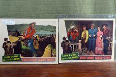 Vintage Movie Lobby Cards Set LASH LA RUE Movie Cards 1948