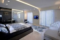 Faux plafond moderne dans la chambre coucher et le salon design is one of images from faux plafond chambre a coucher. This image's resolution is pixels. Find more faux plafond chambre a coucher images like this one in this gallery Bedroom False Ceiling Design, False Ceiling Living Room, Home Ceiling, Bedroom Ceiling, Modern Ceiling, Ceiling Ideas, Ceiling Lighting, Led Ceiling, Interior Lighting