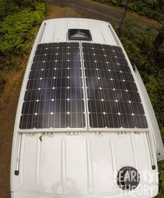 Solar panels on my 4x4 Mercedes Sprinter Van. Get the details in this blog post.