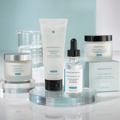 SkinCeuticals product line - My skin is much younger after this! Thanks to a good friend who works for them.  Love this line.