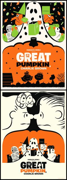 Simply perfect It's The Great Pumpkin, Charlie Brown posters by Michael De Pippo {michaeldepippo.com}.