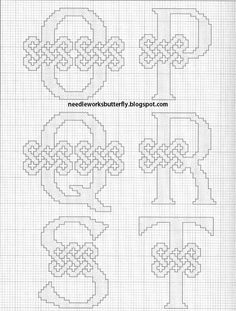 Celtic Alphabet ... 3 of 4