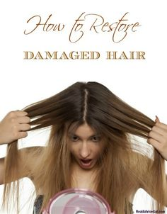 Revive the life of your hair. Read my tips on how to restore damaged hair.