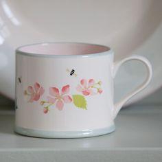 Apple Blossom Straight Mug