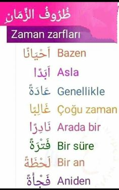 #Arapça Learn Turkish Language, Arabic Language, Turkish Lessons, Language Quotes, Reading Comprehension Passages, Haifa, English Language Learning, Learning Arabic, Math