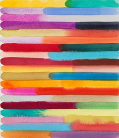 Martin Creed - Work No. 1367 (2012) - Watercolor on paper