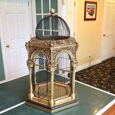 Very Ornate Birdcage 3 Feet Tall | eBay